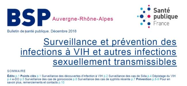 BSP Santé Publique France Auvergne Rhône Alpes Alpes sans sida COREVIH
