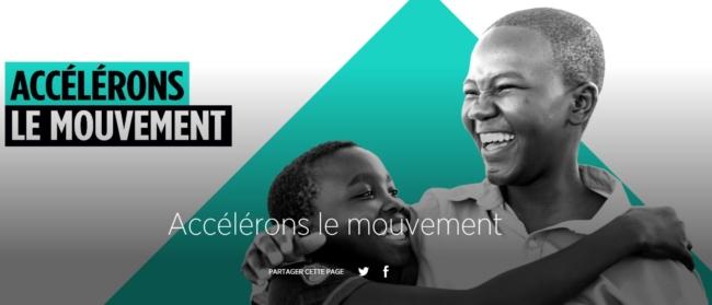 Fonds mondial Accélérons le mouvement alpes sans sida