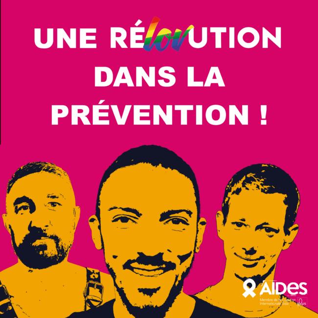 Rélovution AIDES Alpes sans sida