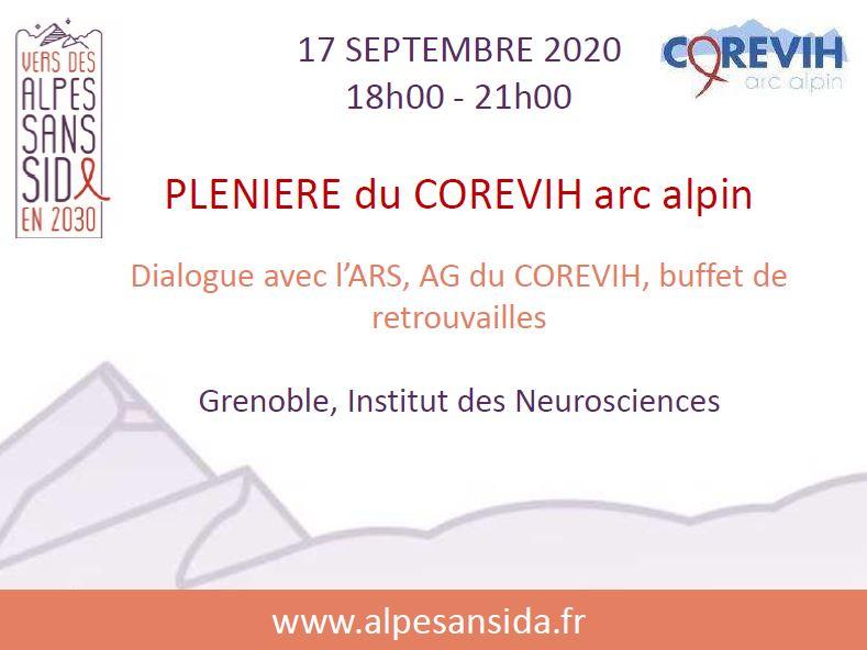 Alpes sans sida plénière COREVIH arc alpin